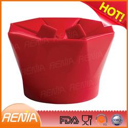 RENJIA silicone reusable popcorn buckets wedding popcorn boxes popcorn box size