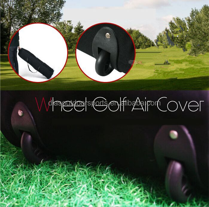 golf bag wheeled travel cover