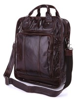 Good Quality Hot Sale Drop Shipping Top Grade Vintage Style Men Leather Fashion Backpack Fit For 15'' Laptop #7168C