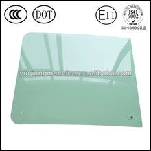 supply Hyundai R200-7 approved tempered cabin excavator glass windscreen