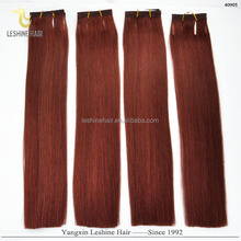 Directly Factory Price Top Quality Reasonable Price 100% Remy Hair remy hair weaving 99j