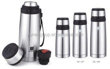 thermos vacuum water flask copper plated inner
