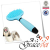 Silica gel handle rubber pet shower brush dog grooming