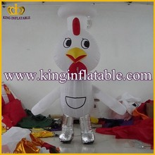 Hot Sale Inflatable Moving Cartoons Costumes, Walking Inflatable Cartoon Characers