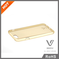 smartphone Ultra thin slim soft TPU Back case cover for iphone 6 with more colors for option