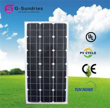 Selling well all over the world factory ship 70w solar panel price