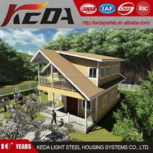 Prefab Beach Home Luxury Prefabricated Villa House for Sale in Guangzhou KDV209