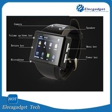 Android Smart Watch with 2.0 Inch Screen, Dual Core CPU, Bluetooth 4.0, Wi-Fi, GPS
