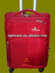 3 pcs set nylon trolley suitcase, travel luggage and bag factory 2014