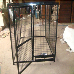 Easy install dog kennel factory price/handmade dog kennel