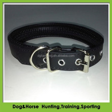Soft Padding Pet Collar and leash solid color dog leash PVC soft collar