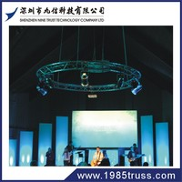 NT trade show booth portable used aluminum truss