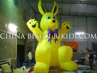 inflatable Rabbit balloon,adertising inflatable