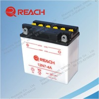 High Quality 12V 7Ah Dry Charged Motorcycle Battery Manufacturers in China