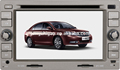 yzg pantalla táctil del coche reproductor de dvd para geely zotye ec7 con gps de navegación