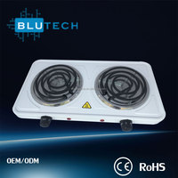 High Quality Latest Portable 2 Burner Electric Hot Plate