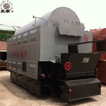 DZL Industrial Quick loading coal steam boiler for food industry