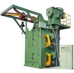 The machines made in China sell like hot cakes steel pipe shot blasting machine q37q32