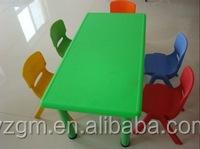 Plastic Children Assemble Study Desk and Chair