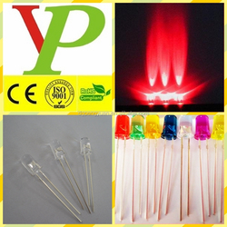 5mm led diode super bright different colors widely usage