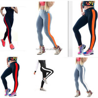 Womens High Quality Seamless Fitness Running Elastic Gym Exercise Yoga Pants Wholesale