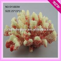 Aquarium beautiful fake coral ornament for decoration fish tank
