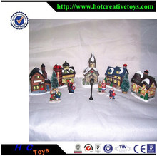 Resin Mini House, Scaled Game Toy Series, Resin Building Model