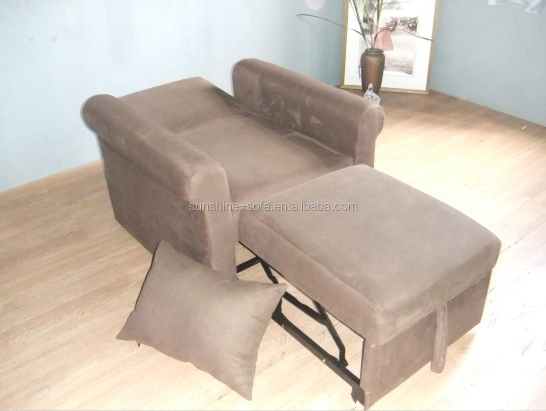 Modern design woonkamer microfiber sleeper sofa cum bed ontwerpen ...