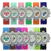 new design 2015 water resist cheap watch silicone wholesale dress watches