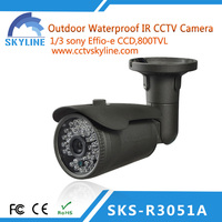 cctv bullet camera waterproof with OSD low cost dvr cctv camera