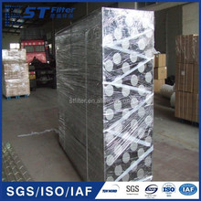 stainless steel supporting cage,filter bag cage