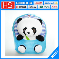 stationery 3d animal panda nice school bags