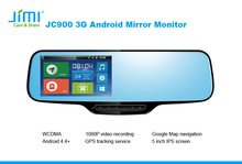 Gps Tracking Phone multi-function car rearview mirror gps gprs tracking