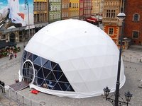 Geodesic Steel Dome Tent