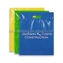 Custom Printed HDPE Die Cut Handle Retail Shopping Bags