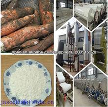 Línea de producción de almidón de yuca&Maquinaria para la producción de almidón de yuca y el equipo completo