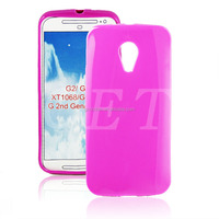 Facny Candy color cell phone tpu shell for moto g2 case