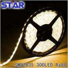 0.2W SMD 2835 Flexible LED Strip Light 60leds/m Waterproof High CRI Ra 80 LED Tape Ledstrip White/Warm White