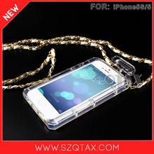 buena calidad de lujo de moda botella de perfume de teléfono móvil de los casos para iphone5