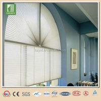 Practical fancy cellular roman pleated shades window sunscreen