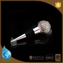 decorative silver bottle stoppers