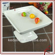 Porcelain Cake Plate Pedestal