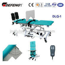DLQ-1Multifunctional electric medical therapy treatment table with china factory price