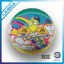 High quality cheap price rubber mini animal basketball for kids