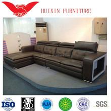 cheap l shape sofa/modern style leather sofa /alibaba express in furniture