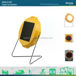 low cost solar camping lantern/solar lantern lamp for rural people to replace kerosene lamp