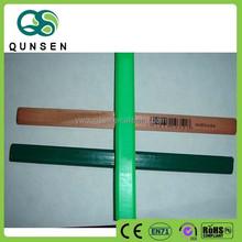 """Hot Selling Manufacturer 7"""" HB Oval shape wooden Carpenter pencil"""