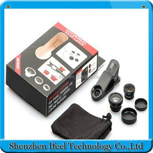2015 trending hot selling products universal clip 3 in 1 lens for mobile phone fisheye+0.67x wide angle+macro lens