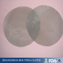 round shape stainless steel 150 micron filter screen