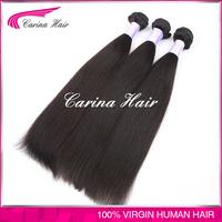 Carina Hair Products natural hair color black women 100% virgin remy brazilian hair